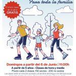 Clases de patinaje en Las Castillas