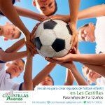 Iniciativa para crear equipos de fútbol infantil en Las Castillas