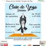 Evento solidario a favor de Colonias Mininas Torrejón del Rey