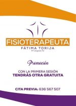 Fisioterapeuta Fátima Torija