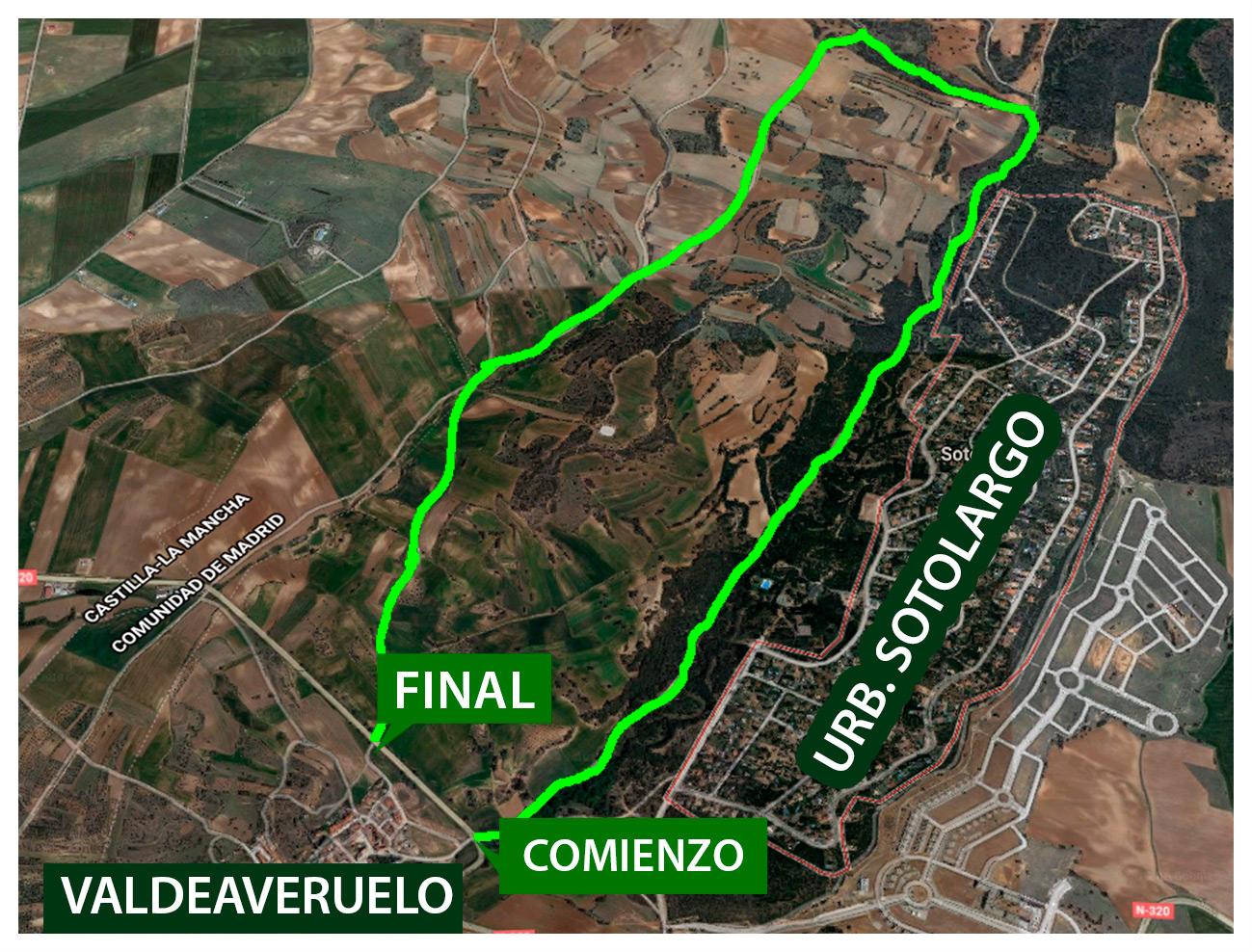 Ruta Valdeaveruelo Sotolargo