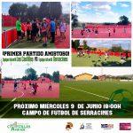 Primer partido amistoso de fútbol infantil – Las Castillas vs Serracines