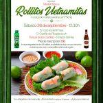 Masterclass de elaboración de rollitos vietnamitas