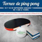 Torneo de ping-pong