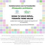 """Iniciativa para ayudar a la fundación """"Llamada Solidaria"""""""